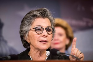 Sen. Barbara Boxer, D-Calif., wrote provisions of the 2001 Aviation and Transportation Security Act that require armed air marshals to guard high-risk flights.
