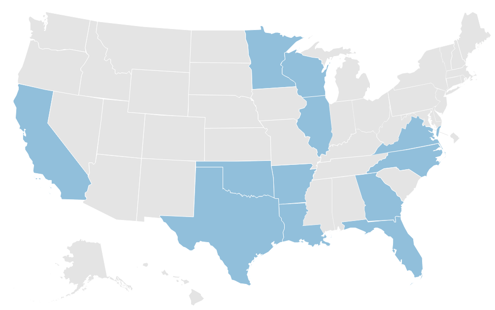 Get CIR's state-by-state data on regulations for armed security guards