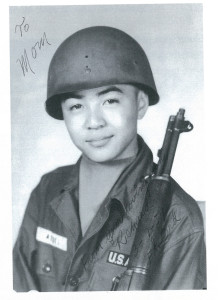 Aoki enlisted in the Army at age 17 and began service immediately after graduating from Berkeley High School.