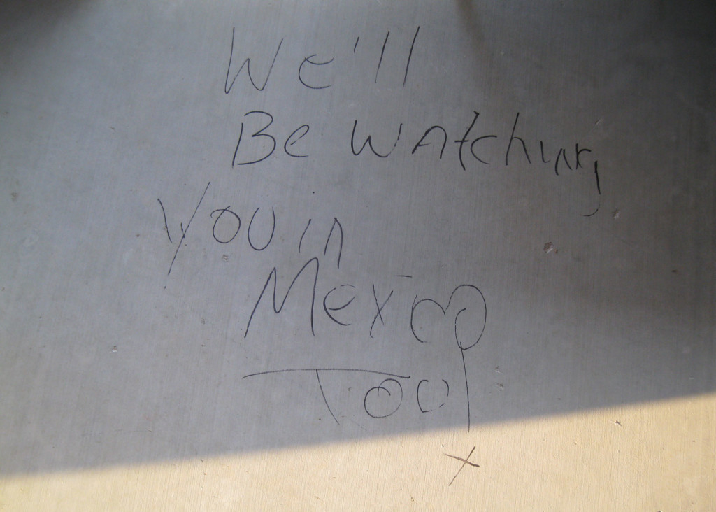 Debbie McDaniel, an expelled former Jehovah's Witness, had been planning a trip to Mexico this weekend, but she's now thinking of canceling it after her patio was vandalized.