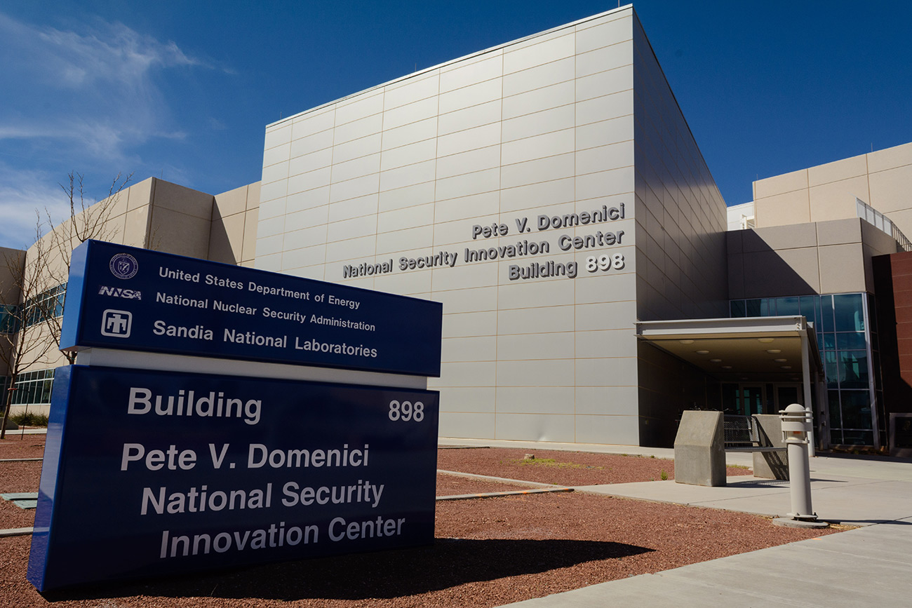 The Pete V. Domenici National Security Innovation Center at Sandia National Laboratories is named for the longtime New Mexico senator, renowned as a champion of nuclear weapons for more than three decades.