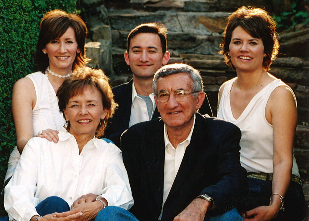 Debbie McDaniel (top left) is shown with her brother, sister, mother and father before she was disfellowshipped by the Jehovah's Witnesses and shunned by her family.