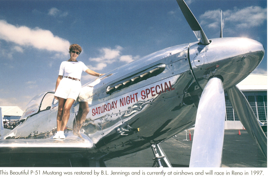 The Saturday Night Special, a P-51 Mustang World War II fighter plane, was owned by Bruce Jennings, founder of Bryco Arms. Bryco hasn't manufactured any guns since Jennings declared bankruptcy in 2003.
