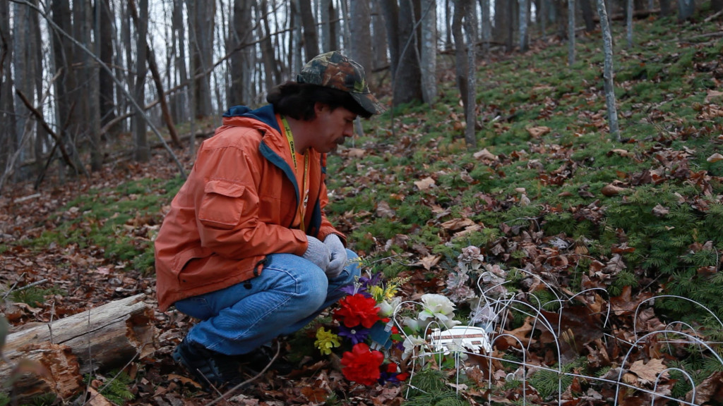 Todd Matthews, spokesman and director of case management for the National Missing and Unidentified Persons System, was at the exhumation of Mountain Jane Doe last November in Harlan, Ky.
