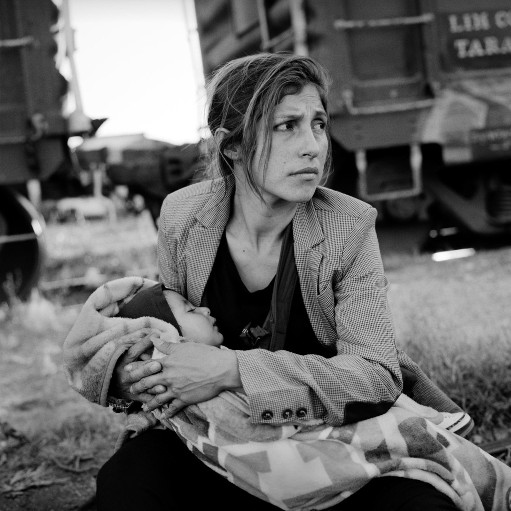 In Central America, the legacy of decades of upheaval can be told in human terms: drug and gang violence, grinding poverty and rampant domestic abuse. As many as half a million people choose what must as first seem an easy way out: hop a freight train headed north. Here, one Guatemalan woman fleeing an abusive husband waits to board in the railhead town of Arriaga, in the southern Mexican state of Chiapas. Her worry is palpable and plausible. Racism against Central Americans is common in Mexico. Other threats range from police beatings to thieves lurking along travel routes looking to snag easy prey.