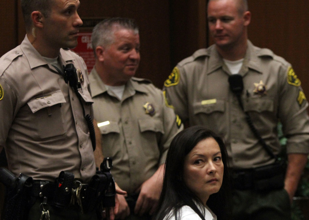Kelly Soo Park is shown at the 2013 trial for the murder of 21-year-old Juliana Redding. Park and 14 others now have been indicted in an alleged $150 million medical insurance fraud scheme in Southern California.