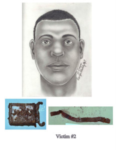 "An artist's sketch shows an unidentified victim of serial killer Larry Eyler, nicknamed ""Adam"" by Newton County Coroner Scott McCord. He was found with three others in Lake Village, Indiana, in 1983."