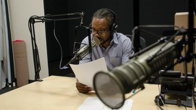 Al Letson in Studio