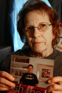 Linda Anderson holds a photo of her grandson Kory Horion that was taken at Lakeview NeuroRehabilitation Center in New Hampshire. Horion, who had Asperger's syndrome and a seizure disorder, died 72 days after checking into the facility in 2012.