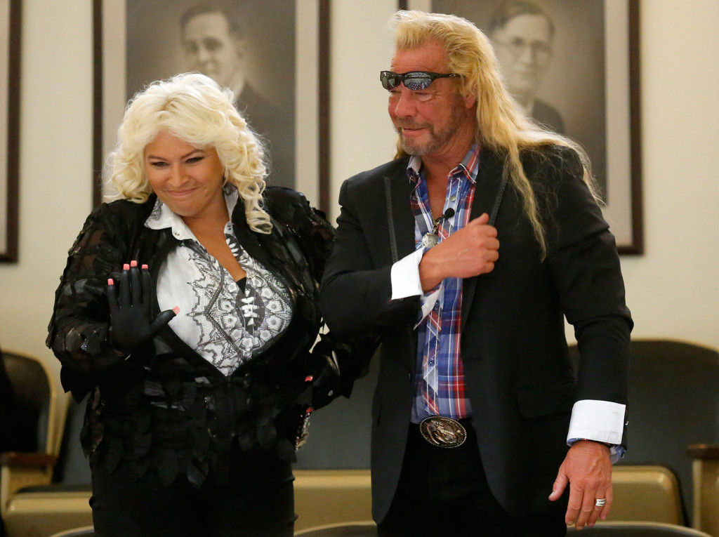 "Beth Chapman and husband Duane ""Dog"" Chapman were co-stars of the reality TV show ""Dog the Bounty Hunter."" Beth Chapman says of her $2,700 donation to Trump: ""He doesn't need our money, but it showed my support."""