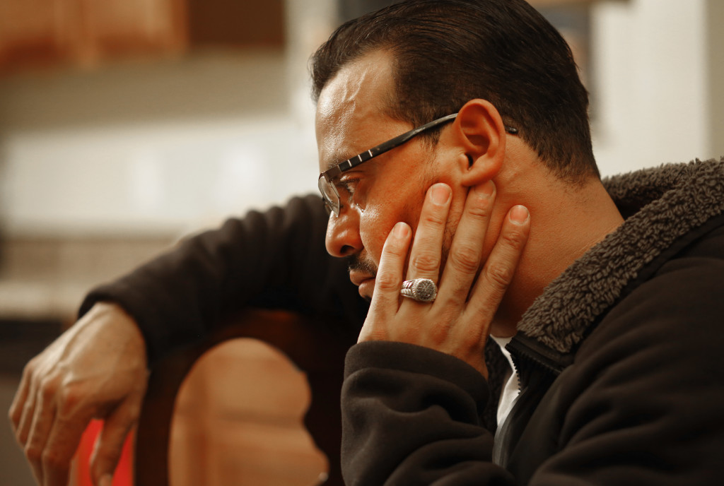 "Juan Cardenas relied on word-of-mouth when he chose to place his son, Carlos, in a religious day care in Indianapolis. ""I thought they were going to do a good job because they served God,"" he said.Credit: Chris Bergin for Reveal"