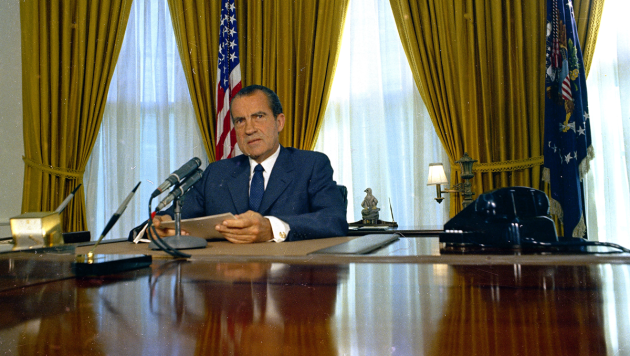 Former President Richard Nixon's White House tapes are a treasure trove of juicy information, including his plan to have aides break into the Brookings Institution after hearing incorrect information that it possessed a top-secret report on the events leading up to the 1968 bombing halt during the Vietnam War.