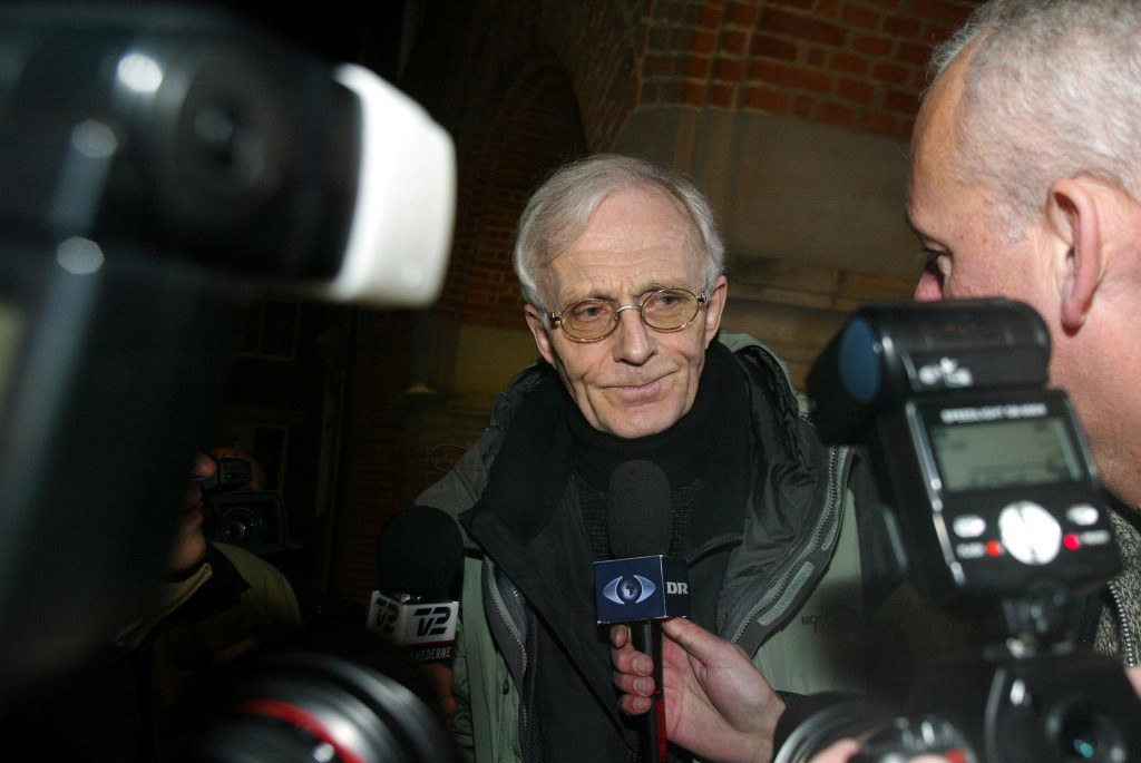 Mogens Amdi Petersen, shown in 2003, is the founder of a secretive organization called the Teachers Group, which former members, academics and the Danish media have likened to a cult. He's also an international fugitive wanted in Denmark for embezzlement and tax evasion.