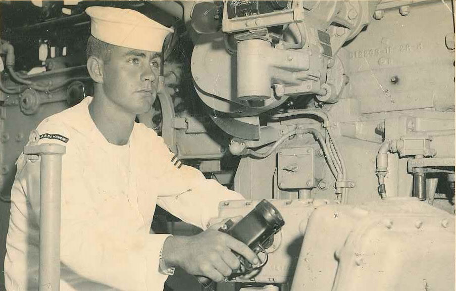 Wayne Brooks was a gunner's mate aboard the USS De Haven when it sailed deep into the Pacific for Operation Hardtack I, a series of nuclear tests in 1958. Over three months, he witnessed 27 of them.