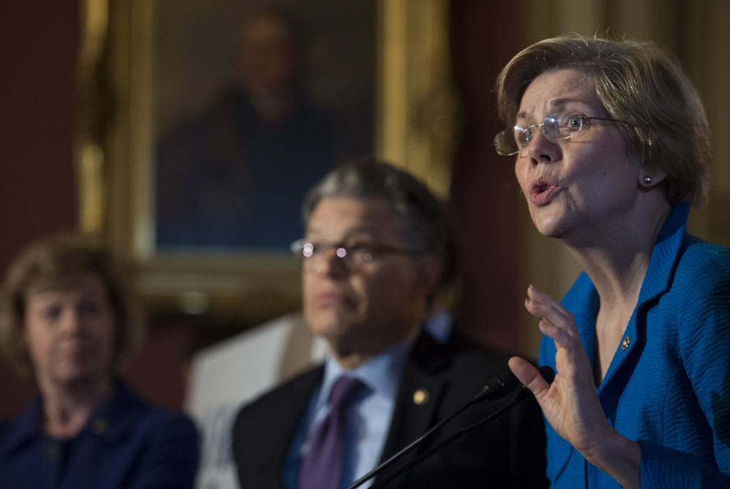 "Sen. Elizabeth Warren, D-Mass., has accused the government of profiteering in student loans. ""The federal government should be helping students get an education – not making a profit off their backs,"" she said on the Senate floor in February."