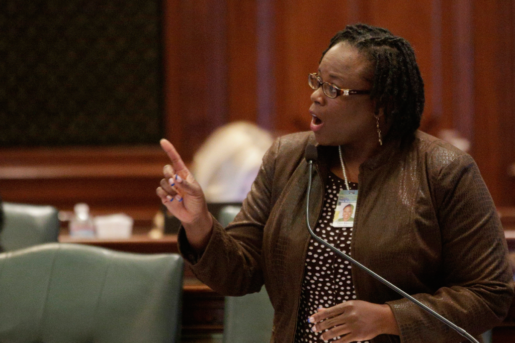"Illinois Rep. Carol Ammons, D-Champaign, wants to revive legislation targeting discrimination in temp worker hiring. ""The industry is exploiting Latino workers, black workers, white workers,"" she said. ""The goal now is to expose the exploiter."""