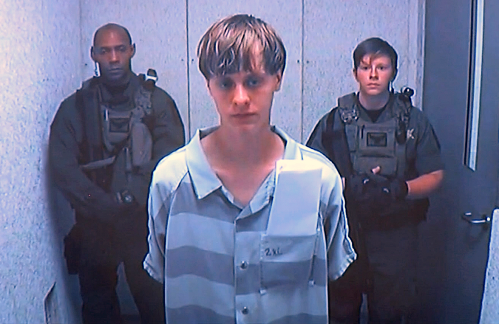 Dylann Roof, who has been charged with the murder of nine people in a Charleston, South Carolina, church last year, didn't have any contact with a hate group or white supremacists before the attack.