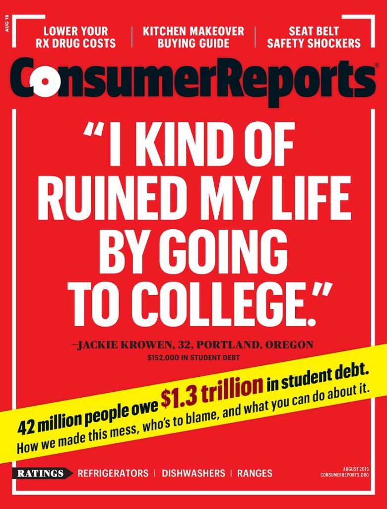 Consumer Reports August 2016