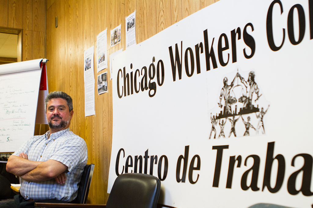 Leone Bicchieri is executive director of the Chicago Workers' Collaborative, which traditionally advocated for Latino temp workers. But a few years ago, he says the group reached out to black workers and discovered a reservoir of frustration and resentment.