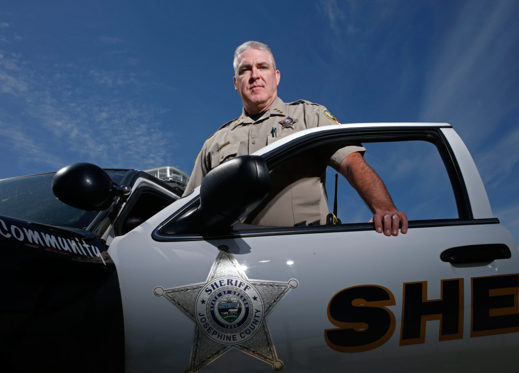 "Sheriff Dave Daniel says the short-staffed Josephine County, Oregon, Sheriff's Office would benefit from a countywide tax levy, but residents are ardently opposed to an increase. ""I think the community here supports law enforcement. They're willing to say, 'Go get 'em, guys!' But they're not willing to fund it,"" he said."