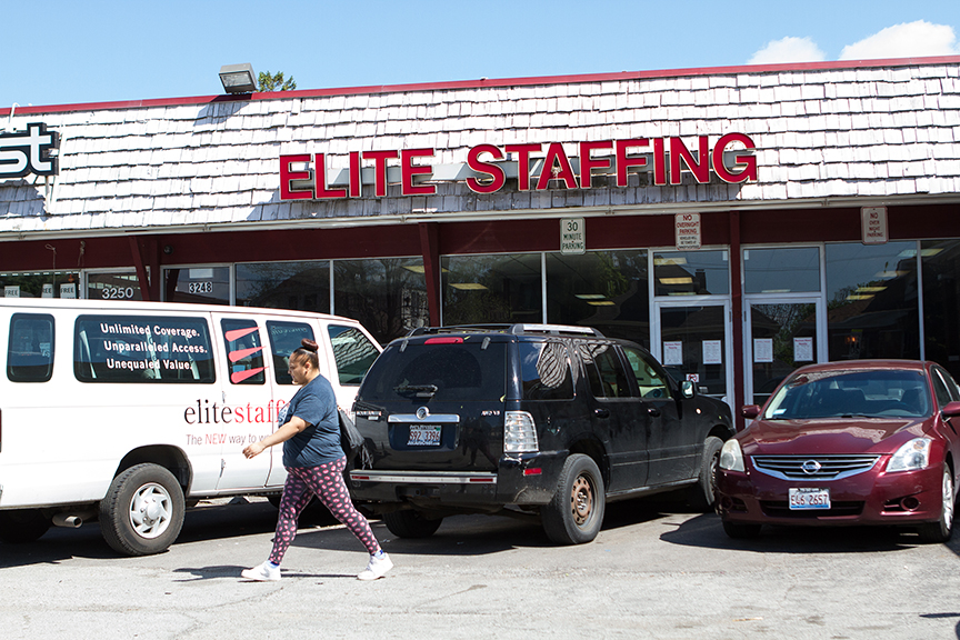 Elite Staffing is a founding member of the Staffing Services Association of Illinois, which lobbied against state legislation to make temp agencies keep track of the race and gender of all job applicants.
