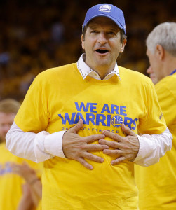Movie producer Peter Guber is part-owner of the Golden State Warriors and the Los Angeles Dodgers.