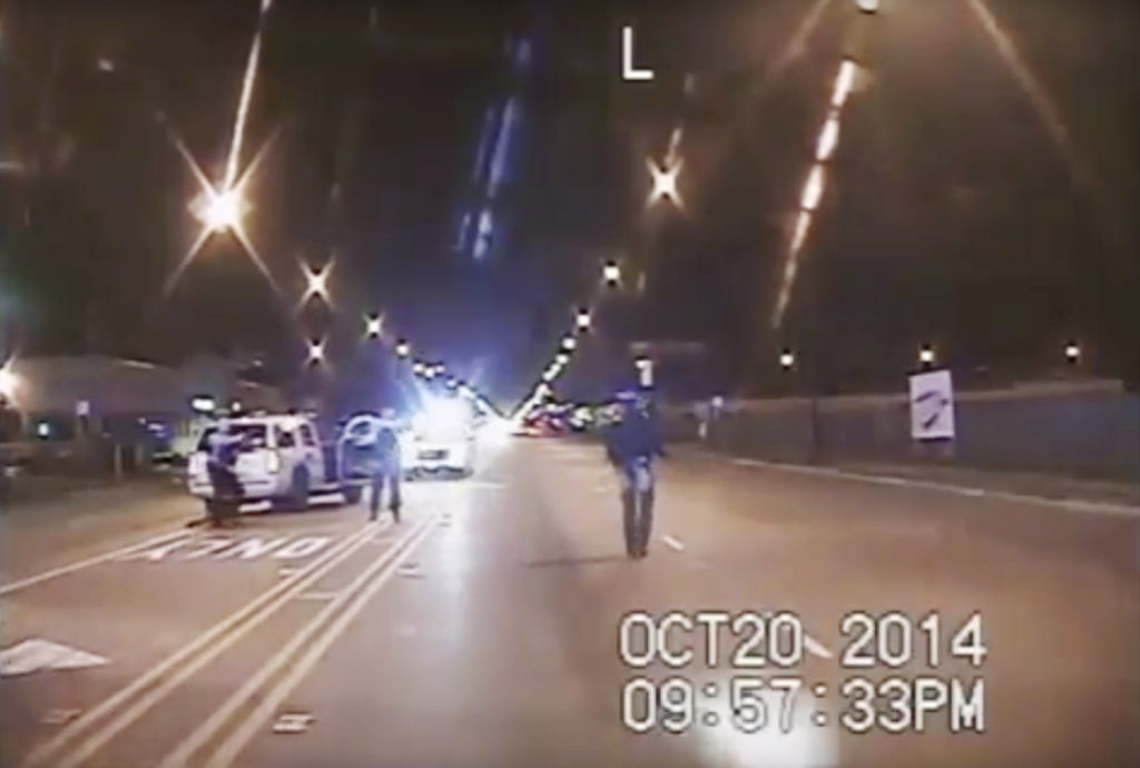 After more than a year of media and public pressure, the Chicago Police Department released dashboard-camera footage showing that Laquan McDonald, 17, was wasn't lunging at officers before he was fatally shot in October 2014.