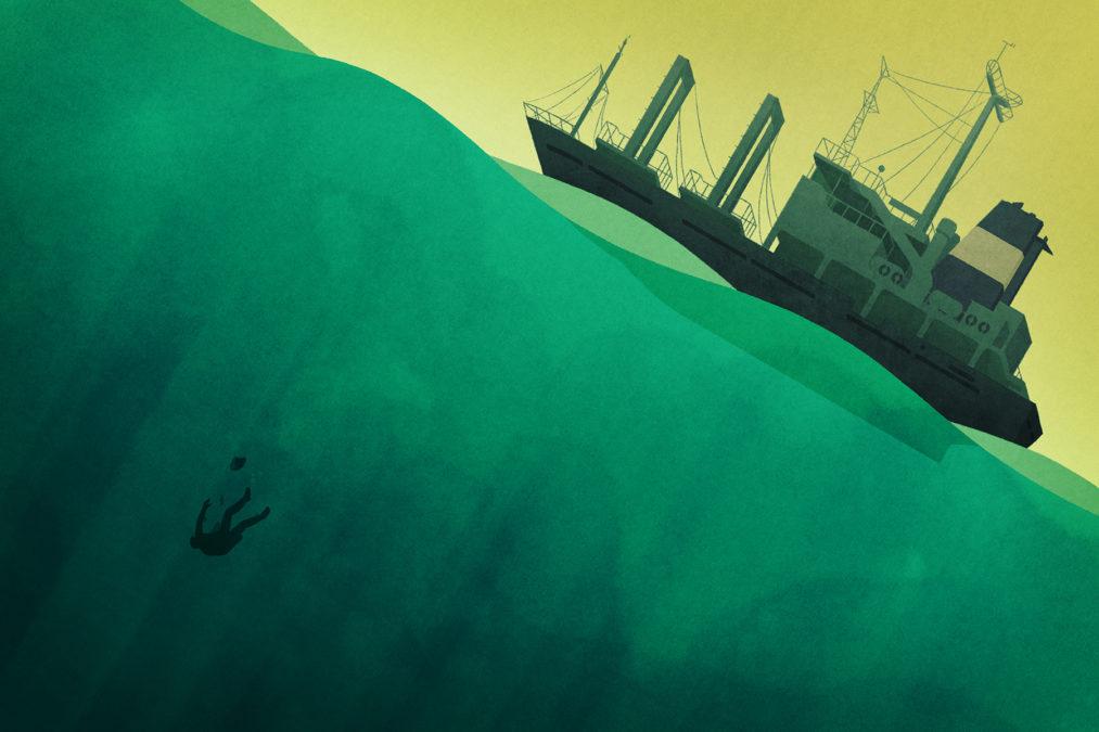 Ocean Floor with Fish