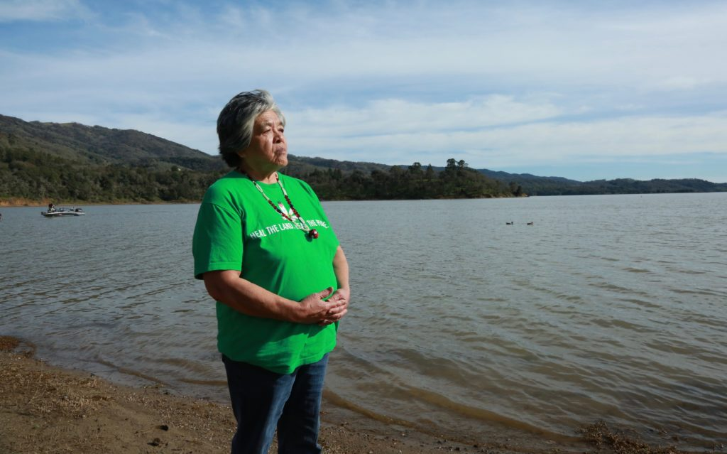 Priscilla Hunter, tribal elder for the Coyote Valley Band of Pomo Indians, says she hopes the legal fight over the Willits Bypass will prevent the California Department of Transportation from using the same methods of archaeological review with other tribes.