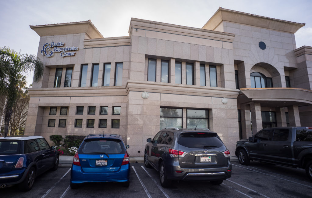 The Pacific Reproductive Center has four locations in Southern California, including this clinic in Torrance.