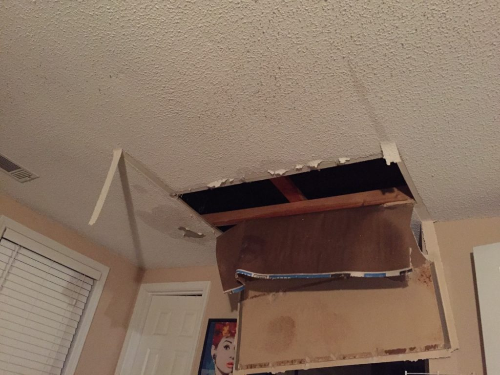 "Makita Edwards says she was holding her infant son in the Atlanta house she rents from Colony Starwood Homes when the ceiling caved in and the ceiling fan fell on top of them. ""We're just little people in his world,"" Edwards said of Colony founder, Tom Barrack."