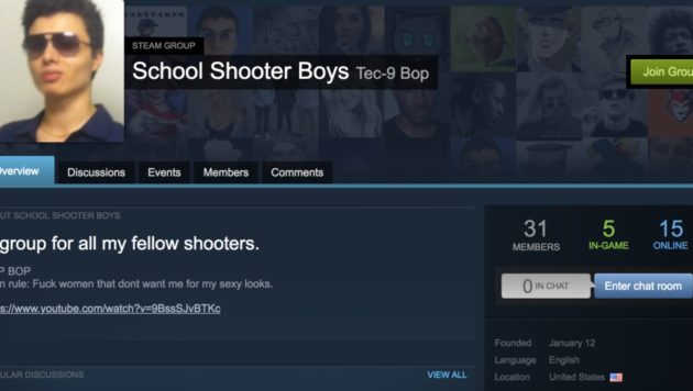 The Hate Report: Gaming app has 173 groups that glorify school