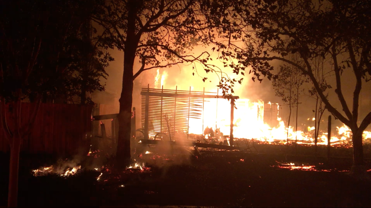 my world was burning': the north bay fires and what went