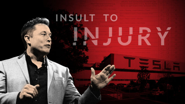 Tesla says its factory is safer. But it left injuries off the books