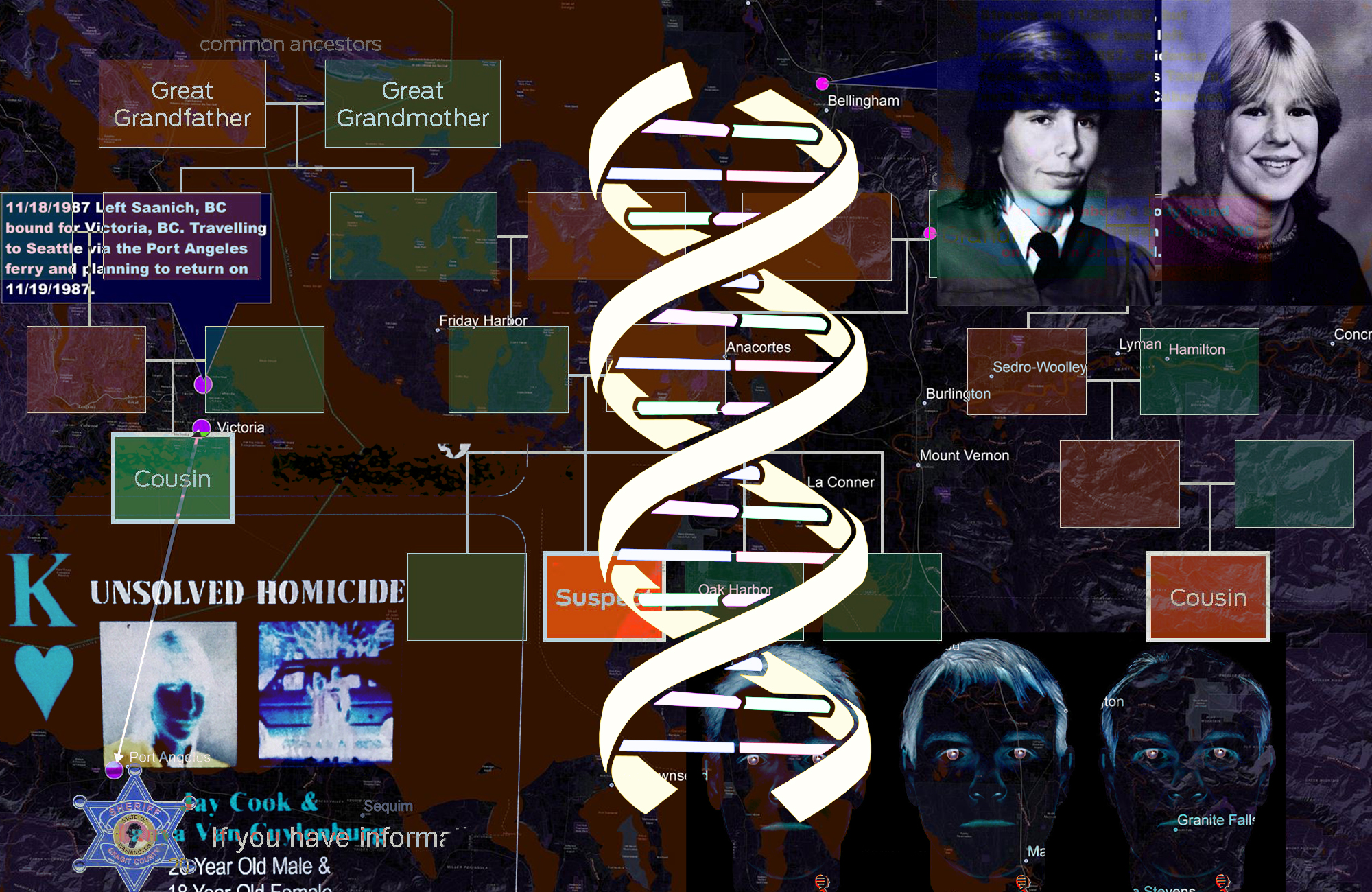 Catch a killer with your DNA (rebroadcast)
