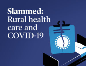 Slammed Rural Health Care and COVID 19 logo